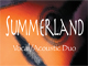 Summerland Male Female Acoustic Duo